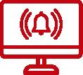 24H ALARM MONITORING icon