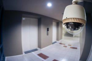 Camera in coridors